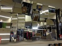 Stunning large 3D mirror