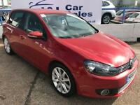 VOLKSWAGEN GOLF 1.4 GT TSI 5d 160 BHP A GREAT EXAMPLE INSIDE AND OUT (red) 2010