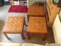 Set of 3 Corner Tables