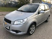 2009 Chevrolet Aveo LS 1.2 petrol 5dr Manual Full Service History, 1 Owner from new