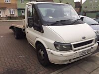 Ford Transit Recovery Truck, Year 2004 beaver tail Quick SALE