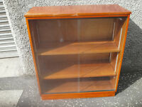 Butch Retro Glass fronted Book case/Display cabinet/Annie Sloan Project