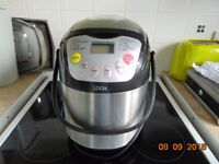 logic stainless steel bread maker in good condition