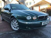 *EXCEPTIONAL*1 OWNER JAGUAR X-TYPE 2.0 DIESEL CLASSIC(130BHP)4DR ONLY 46,000 MILES FSH*MUST BE SEEN*