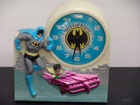 !974 Batman and Robin Clock by Janex
