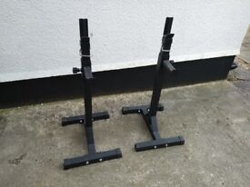 Set of Heavy Duty Squat Stands
