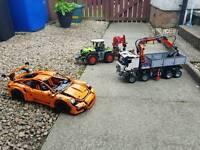 Lego technic trucks/car