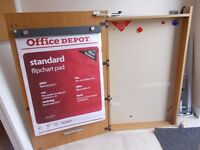 2 flipchart and whiteboard cupboards