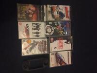 Psp games, 1 film & case