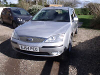 FORD MONDEO TDCi ZETEC 2.0L 05 SILVER HATCHBACK 81K FSH TOW BAR IMMACULATE