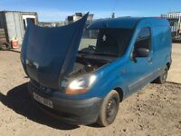 Renault Kangoo diesel 2003 year Spare Parts Available