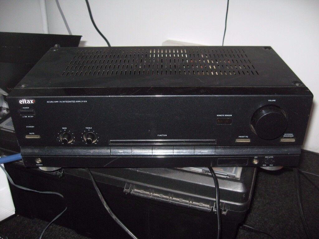 Eltax (wharfedale) Acura 70 2x50W amo with phono