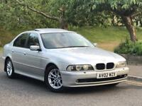 **BMW 530D 3.0 DIESEL AUTOMATIC SILVER (20002 YEAR)IN IMMACULATE CONDITION**