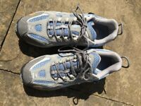 As new North Face ladies walking shoes size 7