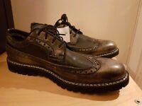 Mens Timberland Britton Hill Oxford Shoes Black-New