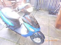 direct bikes 50cc four stroke scooter