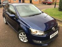 Volkswagen Polo 1.2 Match 5dr (11 - 13) - BLUE - EXCELLENT CONDITION