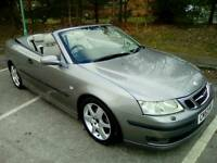 SAAB 9-3 2.0t vector Convertible ONLY 93,000 MILES + FSH