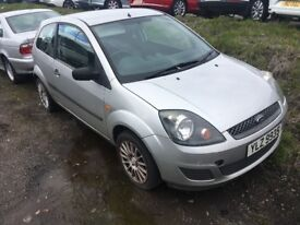 For sale 2007 (diesel) Ford Fiesta tdci 1,4lt