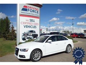 2015 Audi A4 Progressiv plus - Power Sunroof, A/T, 39,007 KMs