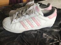 Adidas superstar trainer size 5 (38)