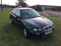 53 REG ROVER 25 2.0 TD iL 5DR-NOVEMBER MOT-2 REMOTE KEYS-GREAT CAR WITH FANTASTIC MPG