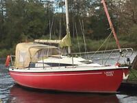 Pegasus 800 sailing yacht Linnet