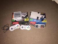 Classic Mini And Mini Super Nintendo