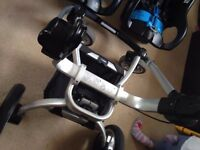 Graco Pushchair and 2 car seat bases