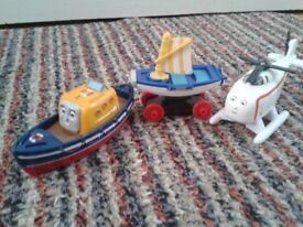 Thomas Take-n-play Captain, Skiff & Harold, will split, as new, Collect National Ave