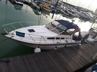 8 berth live aboard boat at Brighton Marina