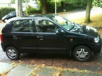 2005 SUZUKI ALTO 1.1 GL 5 DOOR HATCH BACK EXTREMELY RELIABLE TIDY LITTLE CAR VERY CHEAP ROAD TAX