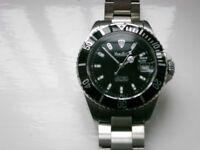 Marcello C Nettuno 3 automatic mechanical wristwatch- Swiss - Rolex Submariner homage - Eta 2824-2