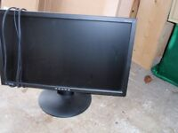 """Viewsonic computer screen size 23"""" (58cm) excellent condition,"""