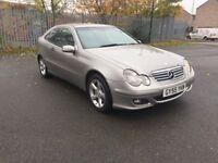Mercedes C220 CDI 2.1 SE 2005 Diesel Coupe Automatic ***Long Mot*Excellent Drive***