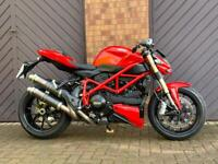 Ducati 848 Streetfighter re ad due to time waster (me)