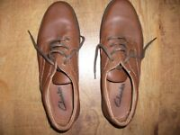 Clarks Mens light brown shoes £15.00