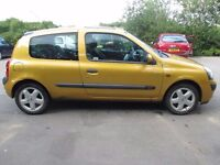 2002 (52) Renault Clio 3Doors Manual 1.2 with 12 Month MOT PX WElcome