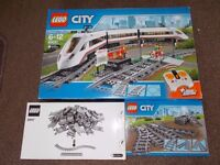 LEGO City High Speed Train 60051 ( £60 ) , tracks set 7895 ( £10) and 8867 ( £20). All sets - £80