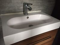 Brand New Rectangle Bathroom Sink/Basin (Unused with Box)