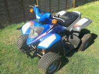 Aprilli medium size quad bike 50cc