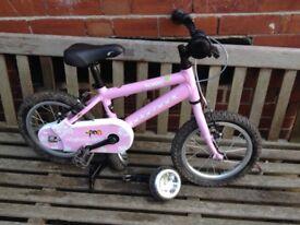 Ridgeback Honey 14 inch pink bike