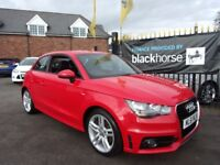 AUDI A1 1.6 TDI S Line 3dr (red) 2011