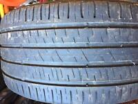 Part worn tyre
