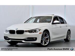 2014 BMW 320I xDrive Sport Line / 0.9% / 84$/SEM* / CUIR ROUGE