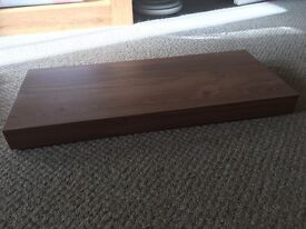 Wood effect shelf - excellent condition