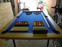 Snooker/Pool Table with Accessories