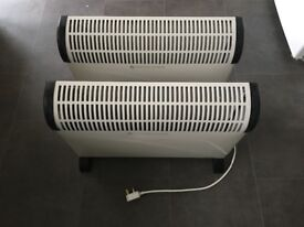 2 x 2000w convector heaters £15 for both
