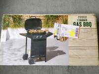 2 Burner Gas BBQ NEW (Tescos)
