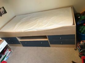Single cabin bed.